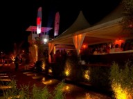 Partyraum: Beachclub am Elbufer