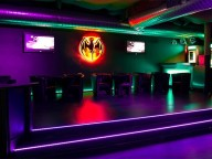 Partyraum: Moderner, eleganter Club in Mannheim