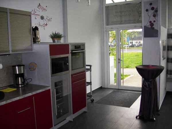eventraum mit moderner k che in berlin mieten. Black Bedroom Furniture Sets. Home Design Ideas
