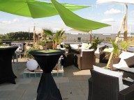 Partyraum: Eventlocation mit Dachterrasse