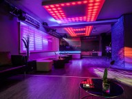 Partyraum: Stilvoller Club mit Restaurant in der City