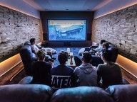 Partyraum: Home Lounges mit Hightech-Entertainment